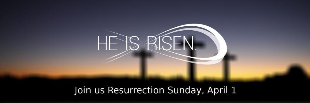 Resurrection Sunday April 1